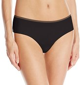 OnGossamer Women's Beautifully Basic Clean Cut Hipster Panty