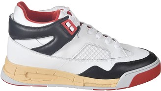 Maison Margiela Paneled High Top Sneakers