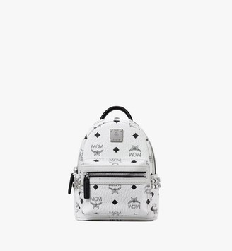 MCM Stark Bebe Boo Backpack in Visetos