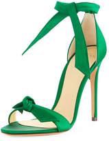 Alexandre Birman Clarita Satin d'Orsay Sandal, Emerald