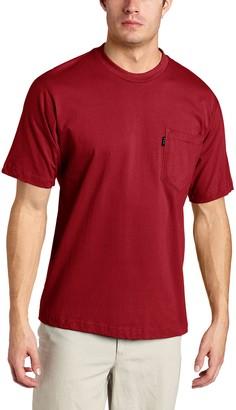 Key Industries Key Apparel Men's Big-Tall WorkShort Sleeve Heavyweight Pocket Tee Shirt