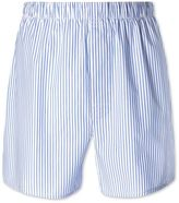 Sky Stripe Woven Boxers Size Large By Charles Tyrwhitt