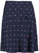 Hobbs VERITY Aline skirt navy multi