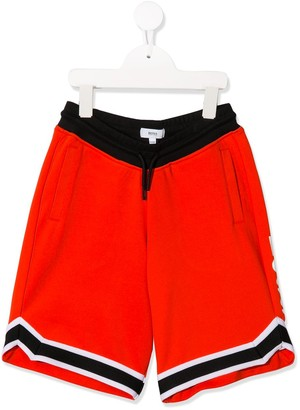 Boss Kids Notched Drawstring Shorts