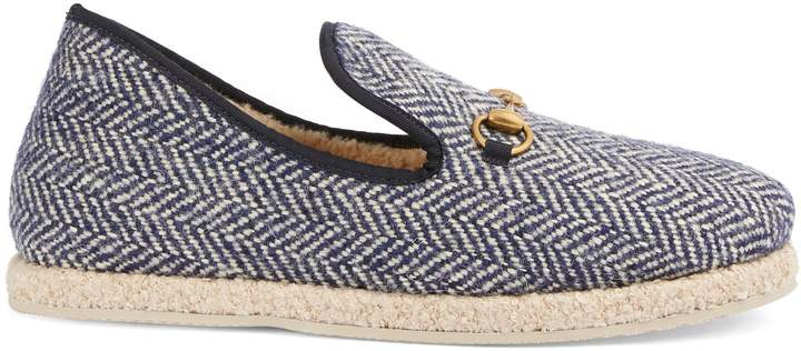 Gucci Men's herringbone loafer