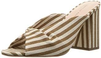 Loeffler Randall Women's Laurel (Artisan Wovenstripe) Flat Sandal