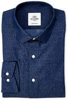 Ben Sherman Navy Tailored Slim Fit Dress Shirt