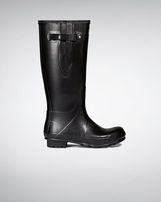 Hunter Men's Norris Field Side Adjustable Neoprene Lined Rain Boots