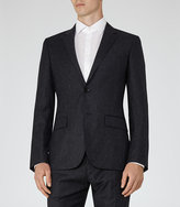 Reiss Kreider B Wool And Silk Blazer