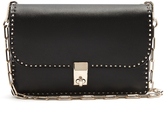 Valentino Stud Stitching small leather cross-body bag