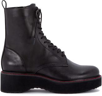 Dolce Vita Vela Leather Combat Boot