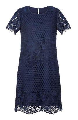 Yumi Rose Print Tunic Dress