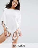 Wolfwhistle Wolf & Whistle Tassel Beach Cover Up