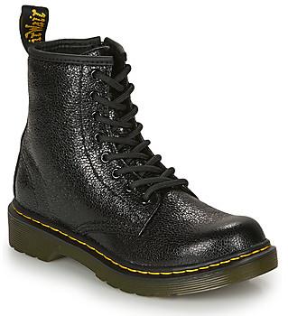 Dr. Martens 1460 J CRINCKLE girls's Mid Boots in Black