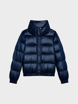 DKNY Down Puffer Jacket With Funnel Neck