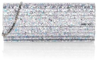 Jimmy Choo Sweetie Glitter Acrylic Clutch
