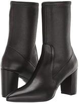 Stuart Weitzman Landry 75 Sock Bootie (Adobe Stretch Nappa) Women's Boots
