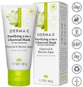Derma E Purifying 2-in-1 Charcoal Mask - 1.7oz