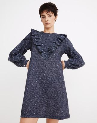 Madewell Warm Penelope Dress in Starry Sky