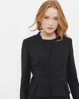 Ted Baker Bow detail cropped suit jacket