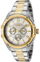 I by Invicta 43659-002 Men's Two-Tone Textured Stainless Steel Silver-Tone