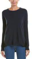 Autumn Cashmere Fringe-trim Cashmere Sweater.