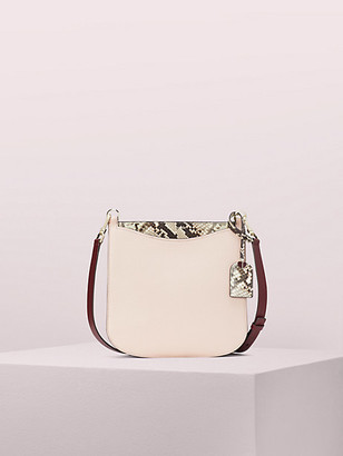 Kate Spade Margaux Embossed Snake Large Crossbody