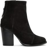 Rag & Bone Black Suede Ashby Boots