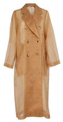 Max Mara Materia Silk trench coat