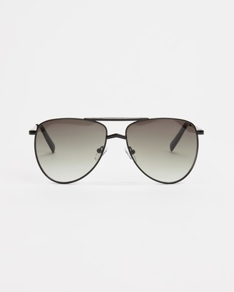 Le Specs Women's Black Oversized - High Fangle - Size One Size at The Iconic