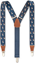 Club Room Animal Printed Suspenders, 32MM, Only at Macy's