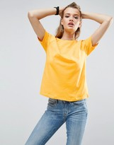 Asos Boyfriend T-Shirt With Wide Sleeve