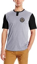 Brixton Men's Legion Short Sleeve Henley Shirt