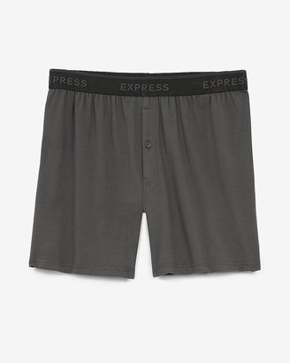 Express Gray Supersoft Boxers