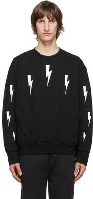 Neil Barrett Black Halo Bolts Sweatshirt