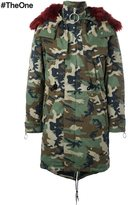 Off-White camouflage parka - men - Cotton/Acrylic/Polyester - L