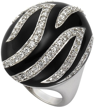 Celesta 360271549-1-060-Women's Ring Sterling Silver 925/1000 10.5 g with Zirconia