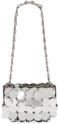 Paco Rabanne Sparkle Nano 69 Sequin Bag in Silver | FWRD