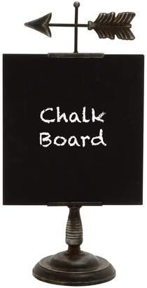 Uma Wood/Metal Table Chalkboard