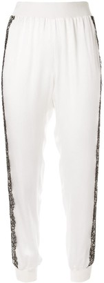 Giambattista Valli Applique Detail Track Pants