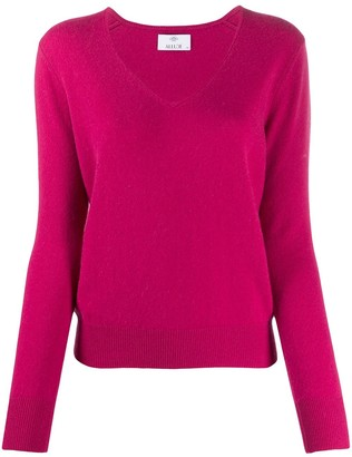 Allude V-neck cashmere sweater