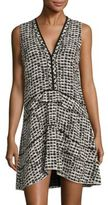 Proenza Schouler Printed V-Neck Dress