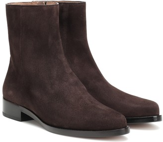 LEGRES Suede ankle boots