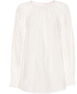 See by Chloe Cotton-poplin blouse