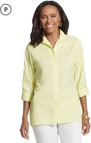 Chico's Roll-Sleeve Cayla Shirt