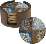 Thirstystone Floral Sequence Set of 4 Coasters Gift Set