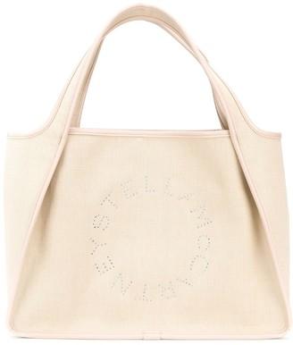 Stella McCartney Stella Logo studded tote bag