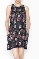 Angie Halter Floral Dress