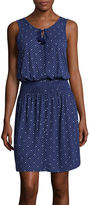 Liz Claiborne Smocked-Waist Tank Dress - Tall