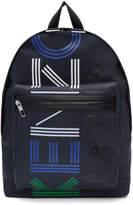 Kenzo Navy Logo Sport Backpack